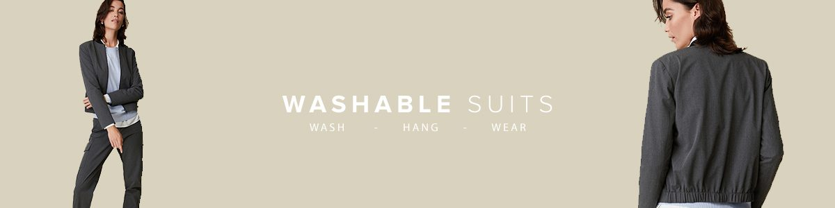 Easy Care, machine washable, suits, women