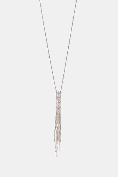 Long necklace with chain penda