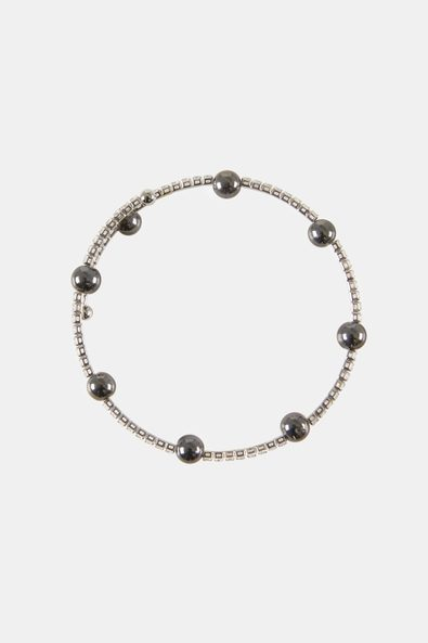 Crystals bracelet with beads