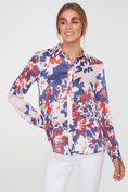 Floral print regular shirt