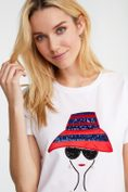 Hat lady t-shirt