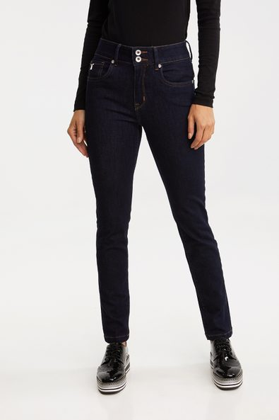 Push up high waist jean