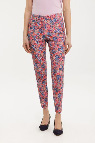 Printed Urban fit crop pant
