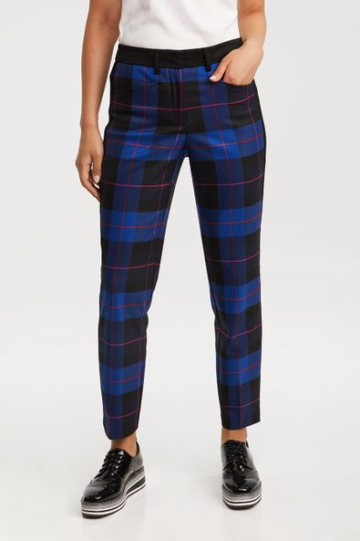 Plaid Urban Fit ankle pant