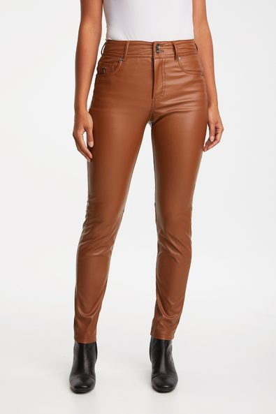 Vegan leather Push up pant