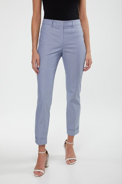 Urban crop pant with cuff