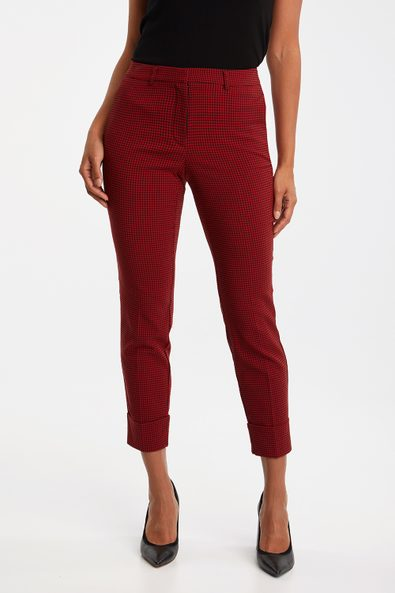 Urban fit gingham pant with cuff