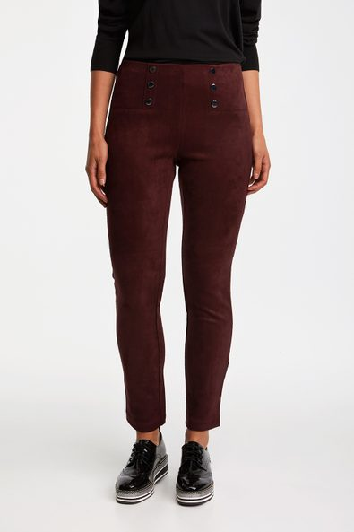 Vegan suede legging