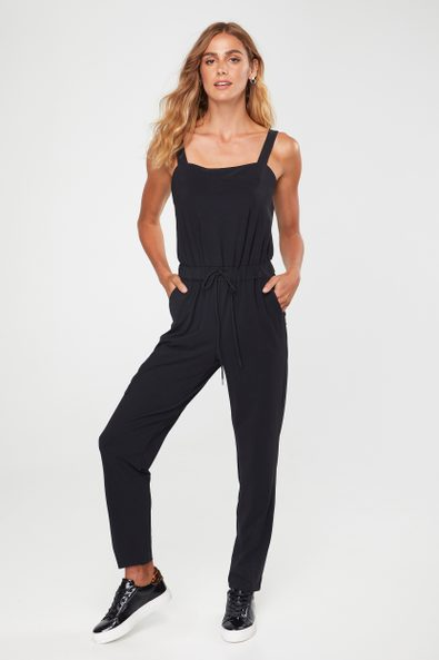Jumpsuit with cargo pocket