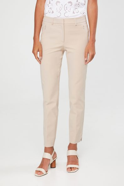 Urban crop pant with zip pockets