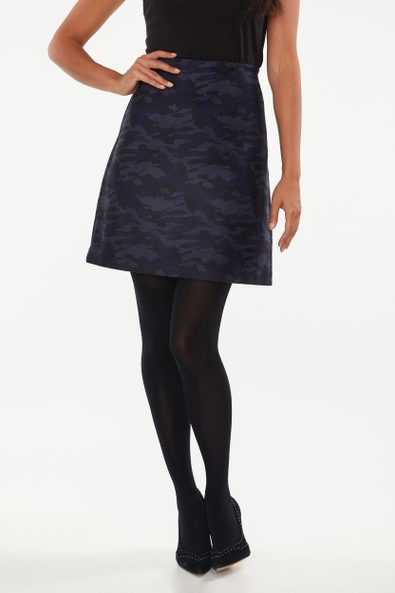 Camouflage A line skirt