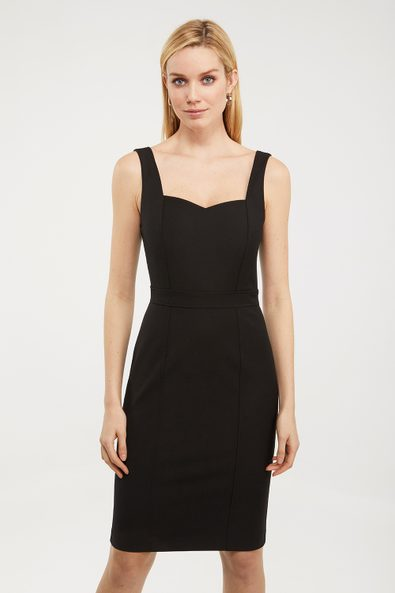 Bustier dress with back detail