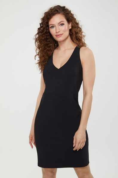 Racer back fitted SPORT CHIC dress