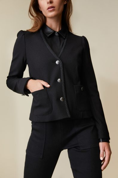 Fitted stretch jacket