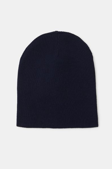 Knitted two tone hat