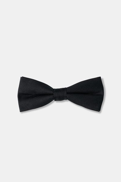 Textured solid bow tie