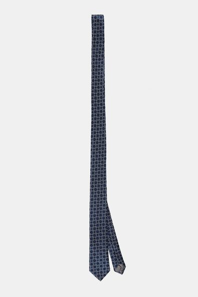 Paisley floral thin tie