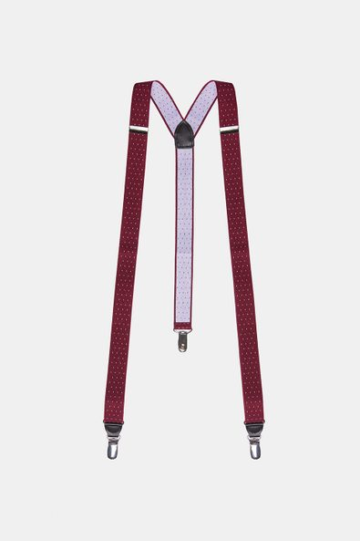 Suspenders with micro dots