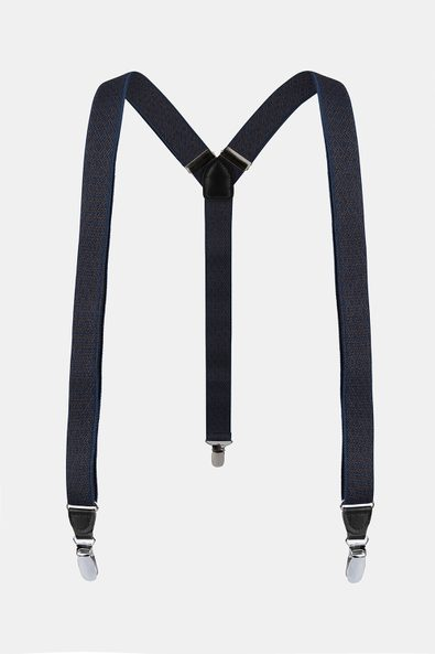 Suspenders with diamonds patte