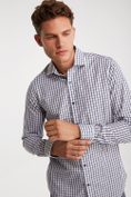 Non-iron Extra-Fitted check shirt