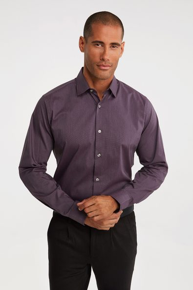 Stretch wicking two tone shirt