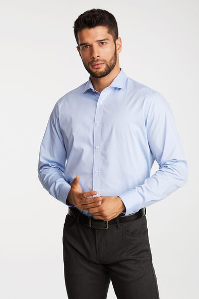 Comfort Fit Stretch textured shirt