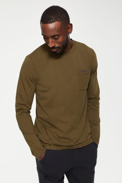 Quilted pocket t-shirt