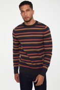 Stripes crew neck sweater