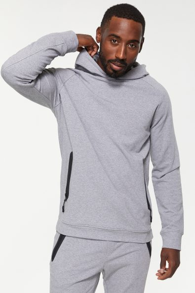 Hoodie with zip pockets