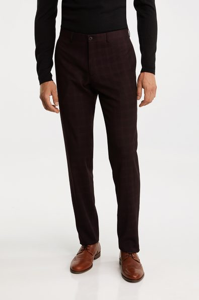 Check Slim fit pant