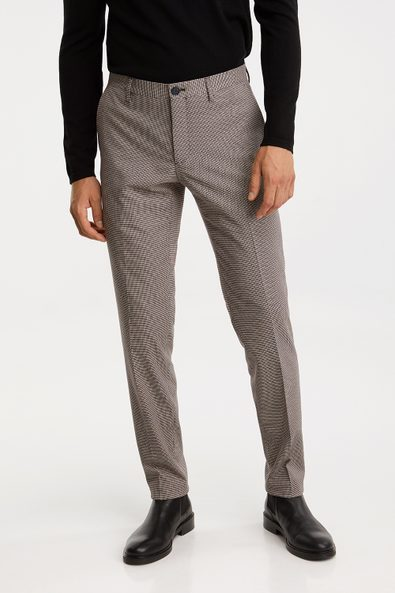Houndstooth Skinny fit pant
