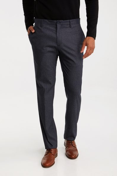 Two tone Washable Slim fit pant