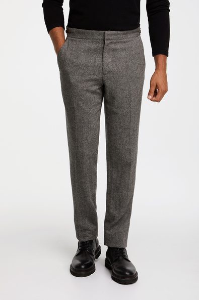 Side tabs Slim fit pant