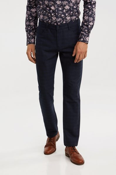 5 pocket Slim fit check pant