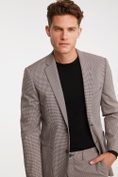Houndstooth Extra-fitted blazer